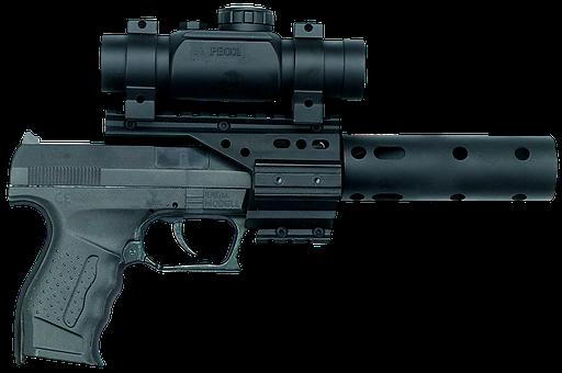Pistol, Revolver, Hand Gun, Weapon, Colt, Air Pistol