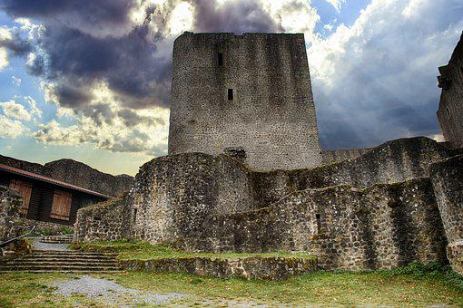 Castle, Ruin, Knight's Castle, Middle Ages, Fortress