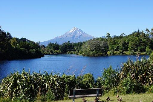 Mount Taranaki, New Zealand, North Island, Landscape