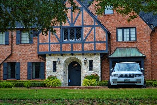 Luxury Home, Lighting, Windows, Mansion, Range Rover