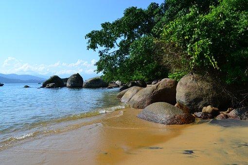 Island, Beach, Nature, Landscape, Costa, Litoral, Mar