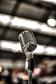 Mic, Music, Sound, Microphone, Concert, Audio