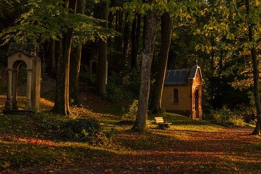 Landscape, Nature, Cemetery, Background