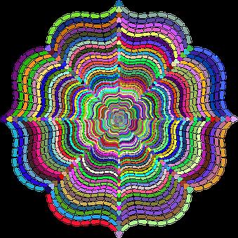 Abstract, Geometric, Colorful, Fancy, Shape, Ornamental