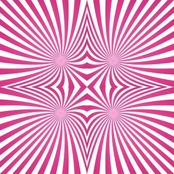 Hypnotic, Psychedelic, Abstract, Ray, Pattern, Stripes