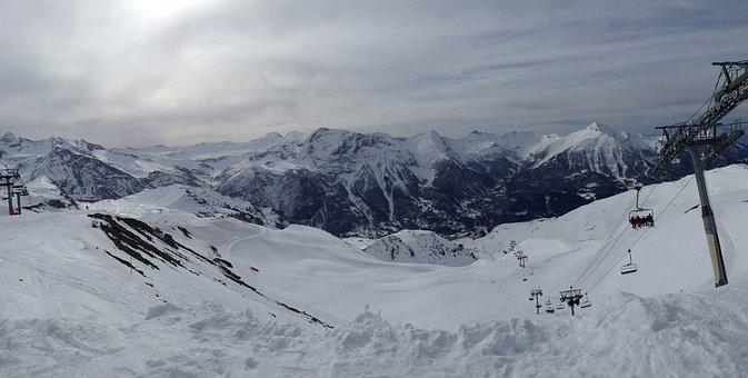 Snow, Winter, Ski, Ski Station, Ski Lift, Holiday