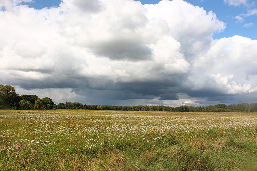 Landscape, View, Space, Nature, Poland, Sky, Clouds