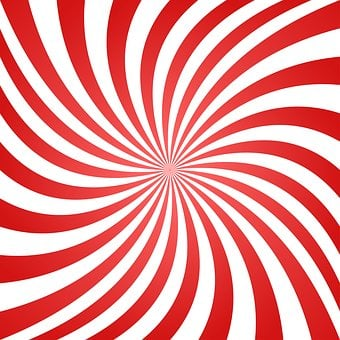 Spiral, Swirl, Red, Background, Geometric, Abstract
