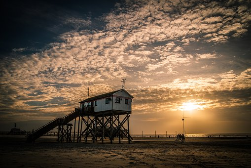North Sea, Peter Ording, St Peter-ording