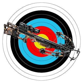 Crossbow, Weapon, Sport Weapon, Arrow, Target