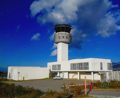 Airport, Control Tower, Tower, Control, Aerodrome