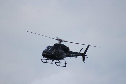 Helicopter, Flight, Pleasure, Airshow, Airborne