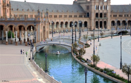 Seville, Plaza De Espana, Historically, Andalusia