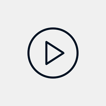 Play, Icon, Player, Button, Outline, Audio, Music