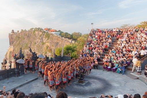 Uluwatu, Monkey Dance, Bali, Culture, Tradition