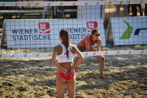Sport, Volleyball, Beachvolley, Game, Activity