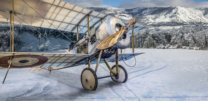 Bi Plane, Aircraft, Plane, Air, Bi-plane, Aeroplane