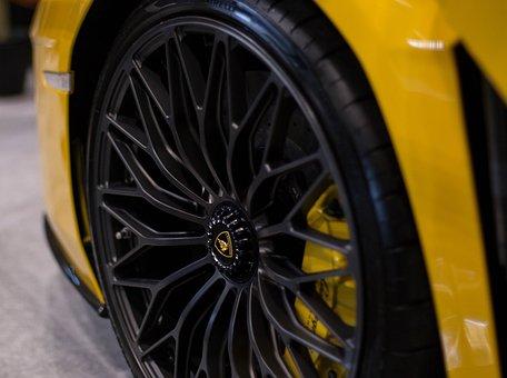 Lamborghini Aventador S, Yellow, Car, Drive, Modern