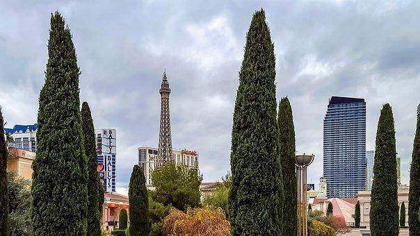 Las Vegas Skyline, Las Vegas, Casino, Architecture