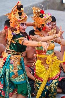 Uluwatu, Culture, Bali, Monkey Dance, Holiday