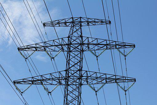 Electric Cable, Electricity, Electric Power, Mast