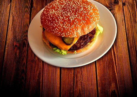 Hamburger, Burger, Eat, Fast Food, Grill, Barbecue