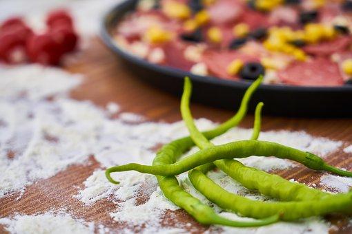Pizza, Dough, Hot, Italy, Italian, Mediterranean