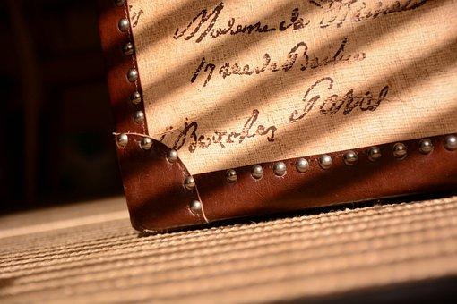 Old, Leading Lines, Box, Carpet, Vintage
