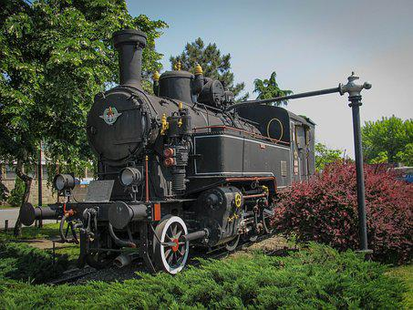 Vintage, Train, Locomotive, Railway, Railroad