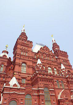 Museum, Moscow, Red Square, Russia, Historical Museum