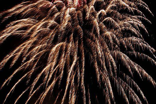 Fireworks, New Year's Eve, Pyrotechnics, New Year's Day