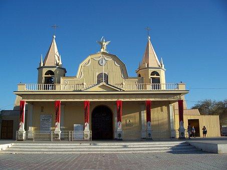 Tirana, Pozo Almonte, Chile, Church, Oasis