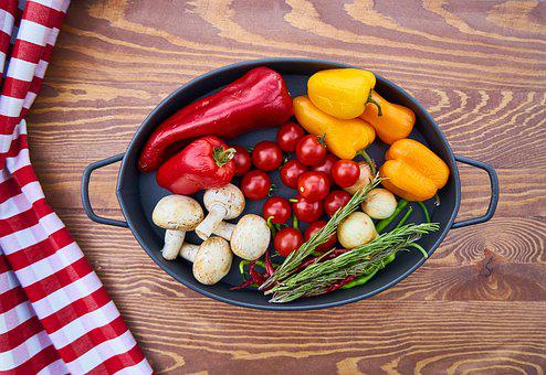 Vegetables, Onion, Pepper, Garlic, Tomato, Egypt