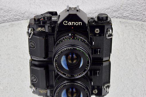 Camera, Canon, A1, Photo Camera, Slr Camera, Slr