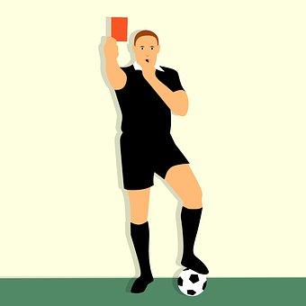 Punishments, Cartoon Character, Idea, Card, Football