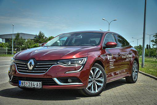 Renault, Car, Vehicle, Automobile, Transportation, Red