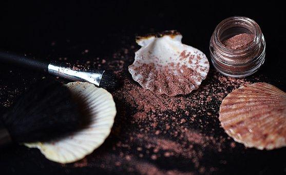 Makeup, Shadows, Powder, Rouge, Beauty, Embellishment