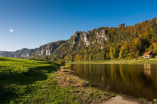 Bastei, Elbe Sandstone Mountains, Saxon Switzerland