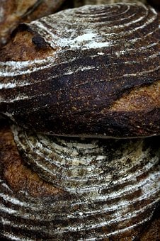 Bread, Loaf, Loaves, Sesame, Flax, Poppy Seed, Grain