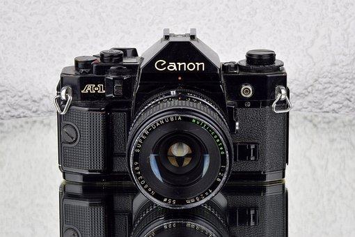 Photo Camera, Canon A1, Canon, Slr, Camera, Slr Camera
