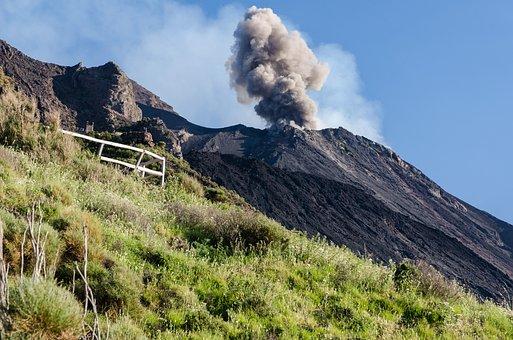 Stromboli, Sicily, The Volcano