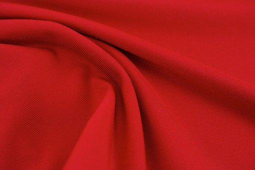 Red, Fabric, Textile, Texture, Abstract, Close-up