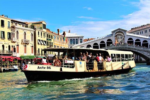 Venice, Bussbåt, Passenger Boat, Transport