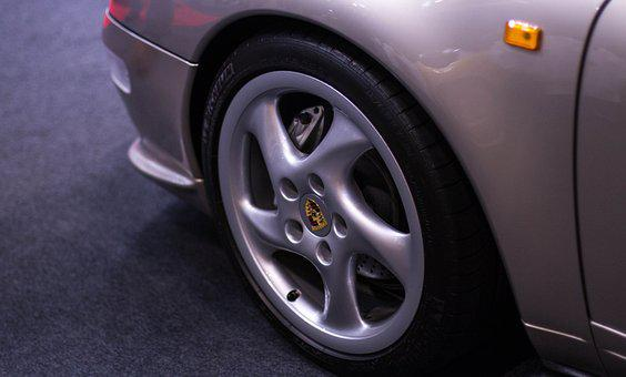 Porsche 911, 993, Wheel, Car, Auto, Transportation
