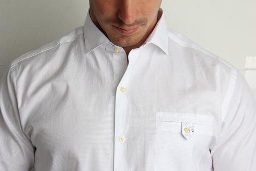 Shirt, Man, White, Fashion, 2017