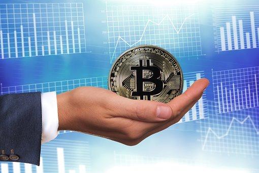 Bitcoin, Money, Gift, Hand, Keep, Give, Present