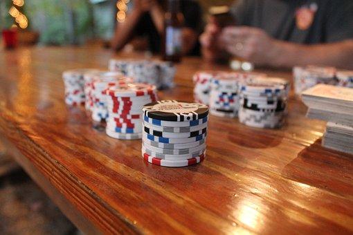 Poker, Poker Chips, Cards, Game, Gambling, Gamble, Bet