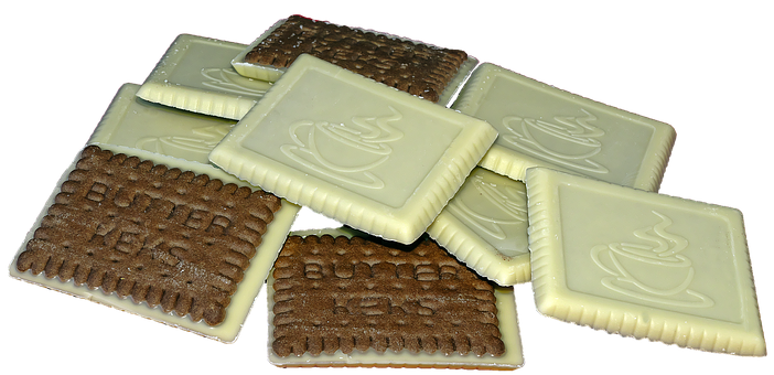 Cocoa Butter Biscuit, Biscuit, Chocolate, White
