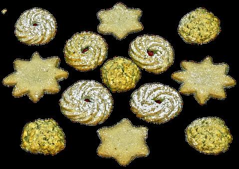 Christmas Biscuits, Cookie, Cookies, Butter Cookies