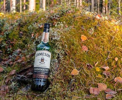 Whiskey, Jameson, Blend Whiskey, Irish, Alcohol, Drink